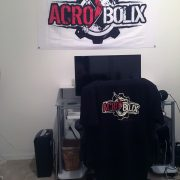 Nick Augustino supporting the Acrobolix lifestyle
