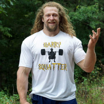 Harry Squatter? Yes!