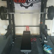 Michael Varela home gym setup