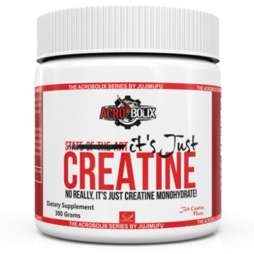 It's just creatine!