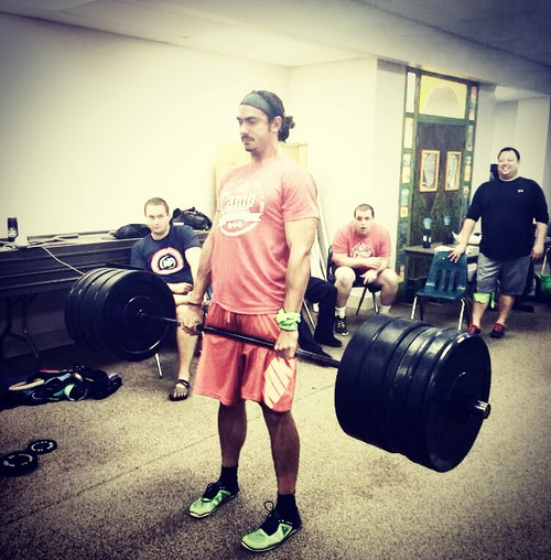 Anthony Mychal deadlift