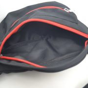 Jujimufu fanny pack has two liner pockets in the large compartment