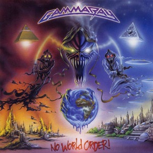 Gamma Ray - No World Order album cover