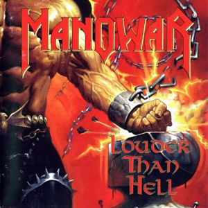 Manowar - Louder than Hell album cover